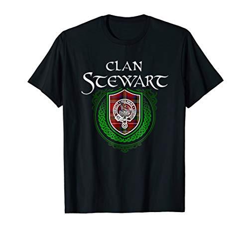 Stewart Surname Scottish Clan Tartan Crest Badge ()