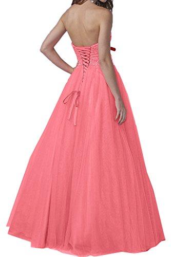 Rosa Partykleid Festkleid Ivydressing Linie Hochwertig Tuell A Herzform Damen Promkleid Perlen Abendkleid nxgw1Pw6Sq