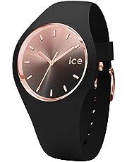 Ice-Watch - ICE sunset svart – svart damklocka med silikonarmband