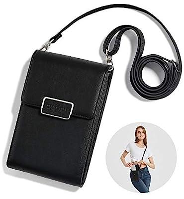 SINIANL Crossbody Bag Handbag Clutch Mini Cell Phone Pocket Pouch Purse Wallet Credit Card Holder for Girls Women