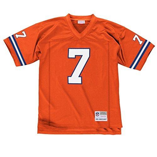 Mitchell & Ness John Elway Denver Broncos Replica Throwback pour Maillot NFL Orange