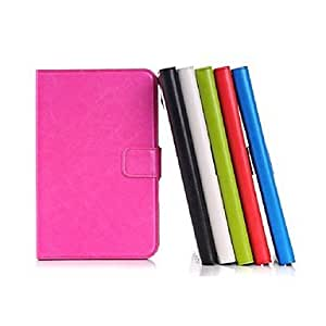 HP Wax Oil Mad Ma Pattern PU Leather for Samsung Tab 3 Lite T110(Assorted Colors) , Black