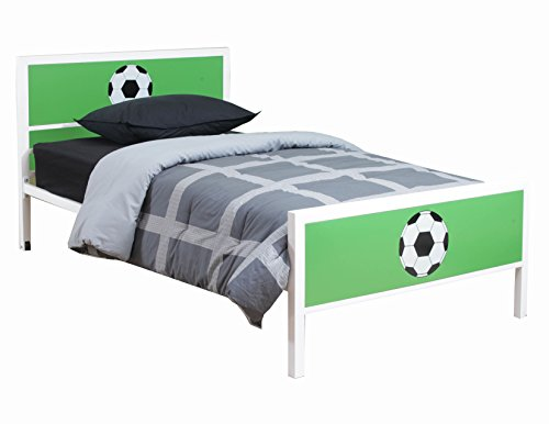 Powell 14Y2015TB Goal Keeper Bed, Twin (Powell Kitchen Bed)