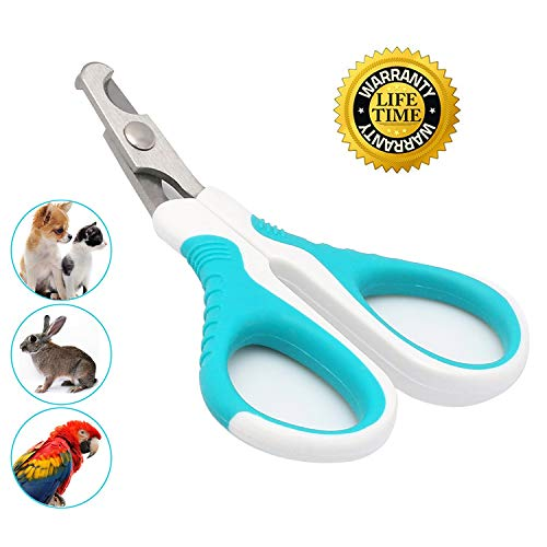 Cat Nail Clippers for Small Animals,Cat Claw Clippers Scissors & Nail Cutter -Professional Grooming Cat Claw Trimmer for Cats