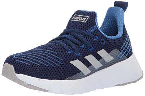 adidas Unisex Ozweego Run, Dark Blue/Grey/Collegiate Royal 5 M US Big Kid