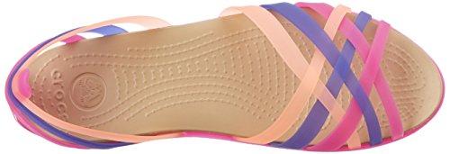 Sandals Melon Purple Huarache Vibrant Crocs Flat Violet Women's qw4xt10