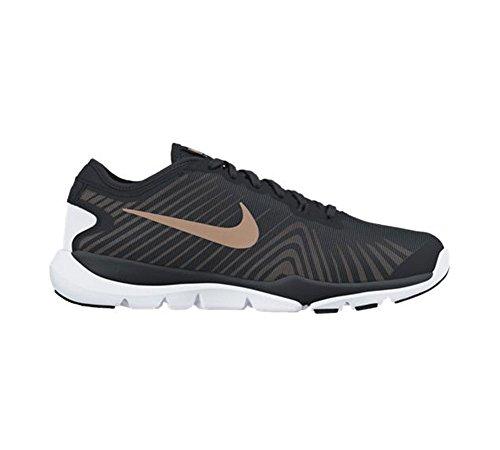 Nike Vrouwen Flex Opperste Tr 4 Crosstrainer Zwart / Rood Brons / Wit