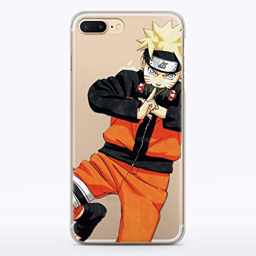 Naruto iPhone Shippuden Uzumaki Manga Sage Sharingan Cell i Phone Case iPhone 10 X XS Max XR 8 8s 8plus 7 6 6S 6plus 7plus 6splus 7plus 7s Plus 4 4S 5 5S 5C SE 5se Cases Fandom T-shirt Cover MA1342 (5c Case Iphone Naruto)