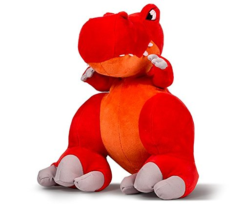 Thunder Stompers: Slash the T-Rex Plush Stuffed Toy Dinosaur with Sound - 12 Inches