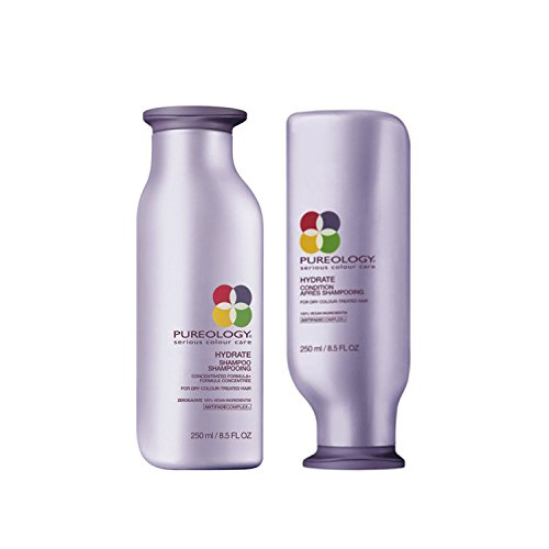 Pureology Hydrate Shampoo 8.5oz and Hydrate Conditioner 8.5 oz duo Body Care