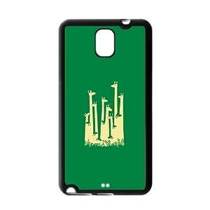 Fashion Custom Cute Giraffe Durable Protection Hard Cover Case For Samsung Galaxy Note 3 III TPU Kimberly Kurzendoerfer