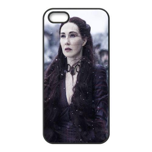 Game Of Thrones Season 5 Melisandre Carice Van Houten 102618 coque iPhone 5 5S cellulaire cas coque de téléphone cas téléphone cellulaire noir couvercle EOKXLLNCD23819