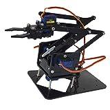 CUTICATE 4 Dof Mechanical Desktop Robotic Arm for Arduino Building Kit Programmable