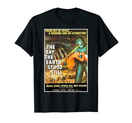 Earth Day Costume (Sci Fi Robot Halloween T-Shirt Earth Invasion Tee)