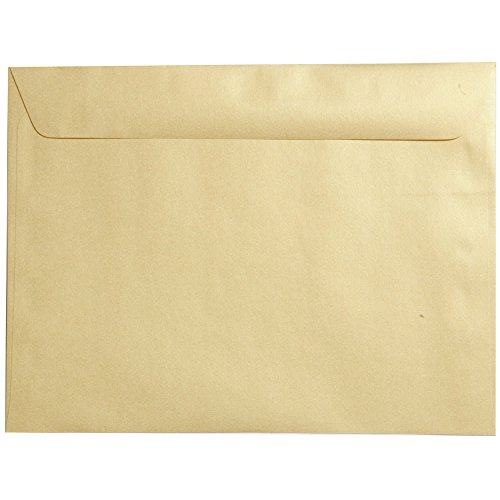 n End Catalog Metallic Envelopes - Gold Stardream - 25/Pack ()