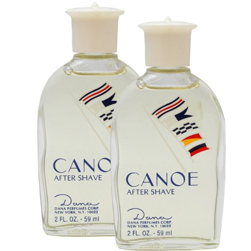 Price comparison product image Canoe by Dana for Men. Aftershave Pack Of 2 X 2.0 Oz / 60 Ml Unboxed ( Total 4 Oz / 120 Ml )