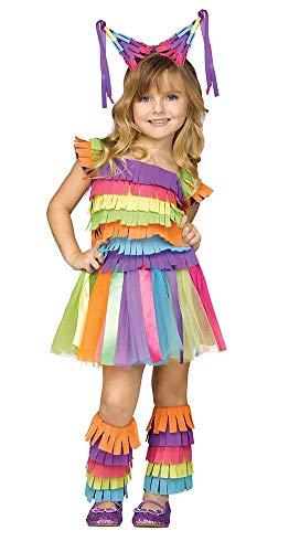 Fun World Party Pinata Toddler Viva Pinata Halloween Costume-L Large 3T-4T]()