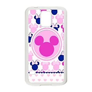 Popular And Durable Designed TPU Case With Disney Mickey Mouse Minnie Mouse_007 FOR samsung galaxy s5 Cell Phone White Case