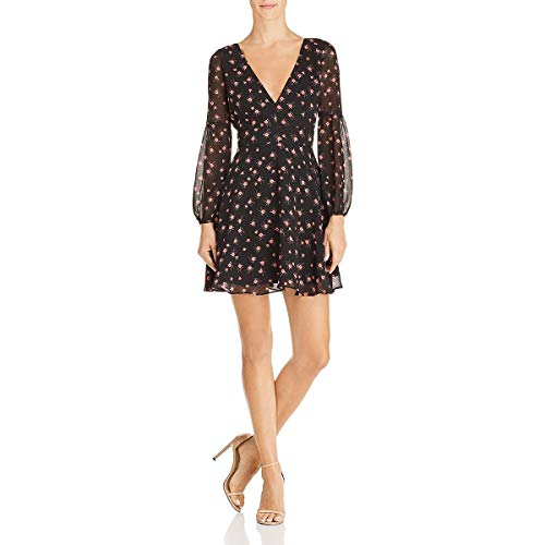 BB Dakota Women's Love in The Afternoon Dress, Black, 4