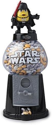 "2 New M/&M/'S Star Wars 12/"" Gumball Type Dispensers Darth Vader /& Darth Maul"
