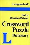 Crossword Puzzle Dictionary, Langenscheidt Publishers Staff, 0887292151