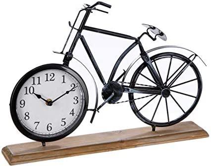 Atmosphera - Reloj de péndulo Bicicleta Vintage: Amazon.es: Hogar