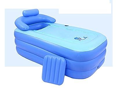 Vasca Da Bagno Gonfiabile Per Adulti : Vasca da bagno gonfiabile vasca da bagno per adulti pieghevole vasca
