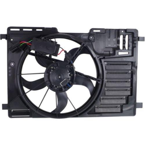 MAPM Premium ESCAPE 13-16/TRANSIT CONNECT 14-16 RADIATOR FAN ASSEMBLY, Single Fan, 1.6L/2.5L, Man A/C, SUV/Van/Wgn