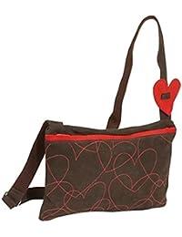 Agatha Ruiz de la Prada Suede Crossbody Bag - Brown