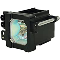 AuraBeam Professional JVC HD-P61R1U Television Replacement Lamp with Housing (Powered by Philips)