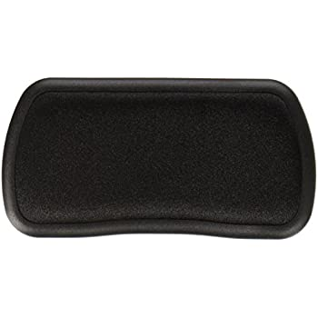 amazon com rolling wrist rest 5 w x 2 1 4 d x 5 8 h black 1