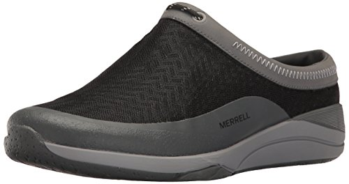 Image of Merrell Women's Applaud MESH Slide Hiking Shoe, Black, 9.5 M US