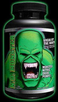 N.O. MONSTER COLOSSAL LABS - CROISSANCE MUSCULAIRE EXTREME - 120 CAPSULES