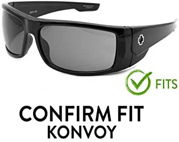Fuse Lenses Polarized Replacement Lenses for Spy Optic Konvoy