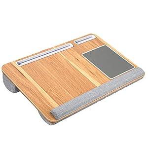 HUANUO Plateau pour Ordinateur Portable avec Coussin, Tapis de Souris & Repose-Poignet intégrés pour Ordinateur Portable…