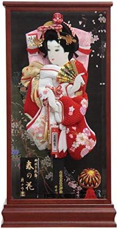 羽子板 ケース入り 極上桜の舞 TO2014 15号 高さ61cm hg15-11 春の花ケース hk15-14 [201ha1549] 正月飾り
