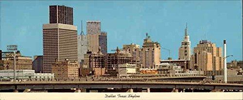 Dallas Skyline, hub of business activity for the entire Southwest Original Vintage Postcard