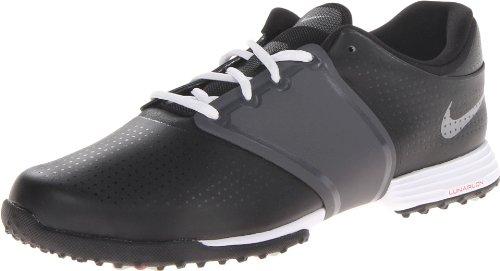 Nike Golf women's Lunar Embellish Golf Shoe,Black/Metallic/Cool Grey/White,9 M US