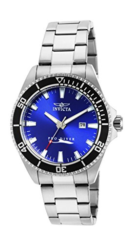 Invicta Men's 15184SYB Pro Diver Blue Dial Stainless Steel Watch with Impact Case ()