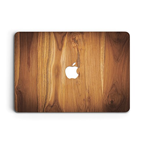 (ZVStore Plastic Hard Case Cover for Macbook (Pro 13 inch 2016 (A1706 & A1708), Wooden) )