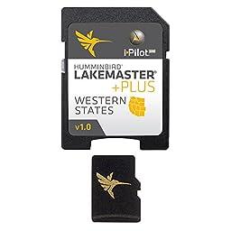 Humminbird Lakemaster Plus Western States Micro Sd