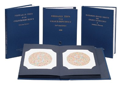Amazon.com: Ishihara Test Chart Books, for Color Deficiency: Health ...