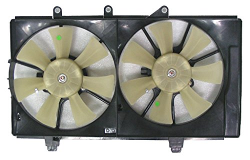Dual Radiator and Condenser Fan Assembly - Cooling Direct For/Fit CH3115137 CH3115137 04-05 Dodge Neon AT 2.0L - Dodge Neon Condenser