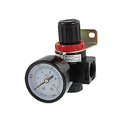 uxcell® BR 4000 Compressor Gas Air Source Treatment Pneumatic Regulator