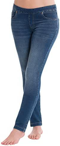 PajamaJeans - Petite Skinny Stretch Knit Jeans for Women