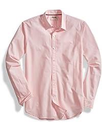 Goodthreads Men's Standard-Fit Long-Sleeve Solid Poplin Shirt