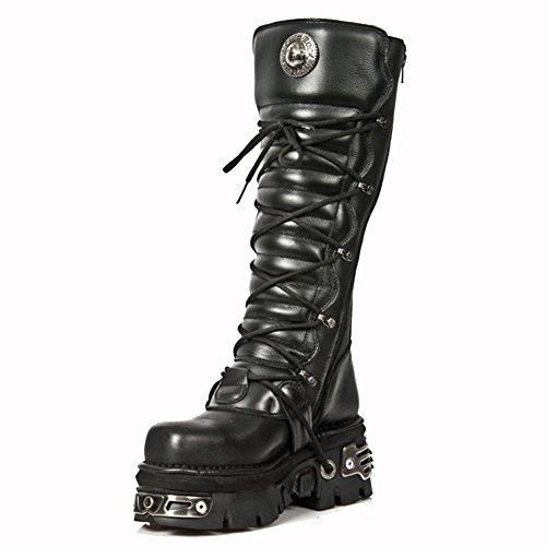 M 272MT S1 Stiefel New Black Toe Rock Metal Schwarz Y0YO4Xq