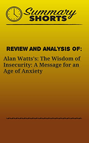 Amazon review and analysis of alan wattss the wisdom of review and analysis of alan wattss the wisdom of insecurity a message for fandeluxe Images