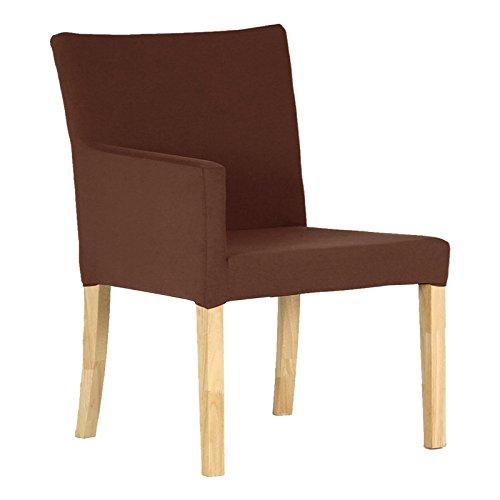 arne ダイニングチェア 北欧 木製 椅子 チェアー 背もたれ 日本製 JOY 【Mサイズ】【右肘タイプ】【ナチュラル脚】 ソフィア ダークブラウン B06Y44N9DZ Mサイズ/右肘タイプ|ダークブラウン ダークブラウン Mサイズ/右肘タイプ