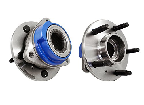 Callahan 513203X2 [2] Pair FRONT Premium Grade [ 5 Lug Non-ABS ] Wheel Hub Bearing Assemblies [ 513203 ]